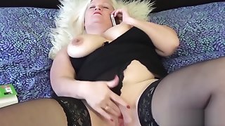 Grandmas pussy improbable just about big dildo used by lesbo girl
