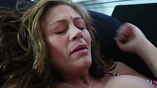 Chasey Lain plus hot latin Audrey Aguilera have a hot lesbian office sex