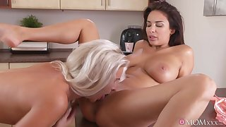 Anissa Kate & Kathy Anderson make love to the Nautical galley