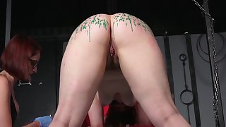 Lesbian Mistress - Wax Throes and Lashing